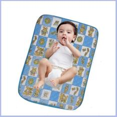 Tấm lót Mỏng chống thấm cho trẻ sơ sinh (48x60cmXdày1mm) ( mẫu ngẫu nhiên )