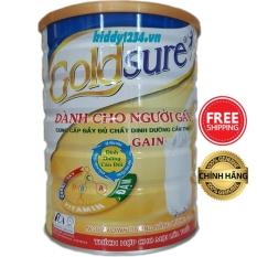 [sale]Sữa tăng cân Goldsure Gain NL 900g dành cho người gầy thích hợp mọi lứa tuổi (date mới)