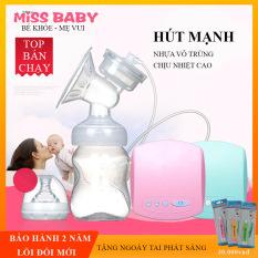 Máy hút sữa điện đơn Miss Baby có chế độ Massage kích sữa điều chỉnh 9 mức độ- Thiết kế thông minh tiện dụng- Tháo lắp dễ dàng- chất liệu nhựa PP an toàn tuyệt đối với trẻ – BẢO HÀNH 2 NĂM ĐỔI MỚI 1-1 TRONG 7 NGÀY
