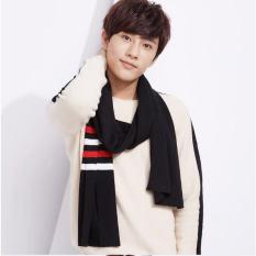 Khăn len quàng cổ nam phong cách Hàn Quốc