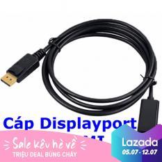 Cáp Displayport ra HDMI dài 1m8 (Đen)