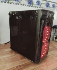 Thùng máy chiến game tích hợp đèn led bên hông trong suốt cấu hình cao CPU i3 RAM 8G VGA 2G Ổ CỨNG 250G