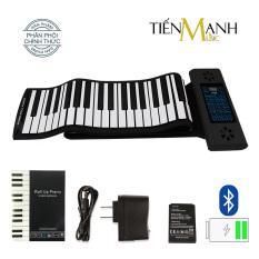 Đàn Piano Điện Konix PS61 – 61 phím cuộn mềm dẻo Flexible PS-61 – (Roll Up Piano – Pin sạc 170mAh – Midi Keyboard Controller)