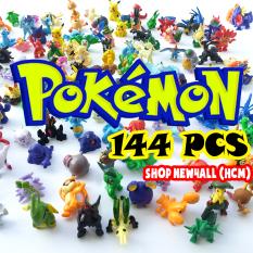Bộ sưu tập đồ chơi 144 mô hình Pokemon Go mini Mega huyền thoại bằng nhựa nhiều màu sắc giá rẻ làm đồ chơi Poke'mon mô hình cho bé – New4all