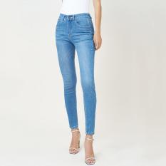 Quần Jean Nữ Pha Tơ Nhân Tạo Lưng Cao Dáng Skinny Aaa Jeans The Signature Nhiều Màu Size 26 – 32 UCSD RAYON