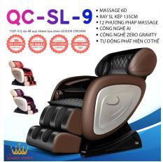 GHẾ MASSAGE NHẬT BẢN QUEEN CROWN QC-SL-9 6D