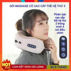 Gối massage cổ chữ U cao cấp đa năng, gối hai bản 4 và 3 nút, gối ngủ văn phòng, gối massage trị liệu, gối mát xa cổ vai gáy chữ U, gối mát xa cổ cao cấp, gối mát xa sạc pin, gối massage cổ chữ U đa năng hót nhất năm 2020.
