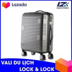 Vali kéo du lịch Lock&Lock LTZ930GRY 20inch có khóa số