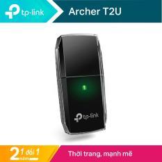 TP-Link USB wifi (USB thu wifi) Chuẩn AC 600Mbps Archer T2U – Hãng phân phối chính thức