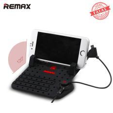 Sạc điện thoại di động kiêm giá đỡ tiện lợi Silicon cho xe hơi REMAX RC-FC1 – FALAS