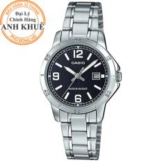 Đồng hồ nữ dây thép Casio Anh Khuê LTP-V004D-1B2UDF
