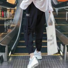 Quần jogger kaki nam nữ túi hộp vải đẹp (Kèm video hình thật)