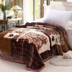 [DÀY DẶN 3 KG] Chăn lông tuyết nhung loại dày 3kg (160x200cm) -mền lông tuyết – chăn nhung- CHĂN NỈ