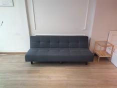 [SALE 30/4 – 5/5 ]Sofa bed . Sofa giường . Màu xám đậm. Chất liệu vải