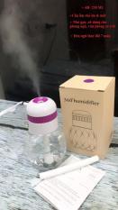 Máy phun sương tạo ẩm cho da kiêm đèn ngủ mini 7 màu