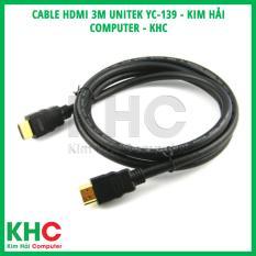 Cable HDMI 3m Unitek YC-139 – Kim Hải Computer – KHC