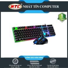 Bộ Bàn Phím Giả Cơ Và Chuột Game Dành Cho Game Thủ NTC G21B Led Đa Màu (Đen) – 3 PHÂN LOẠI TÙY CHỌN – Nhất Tín Computer