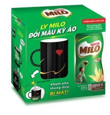 Milo hũ 400g tặng ly sứ đổi màu kỳ ảo