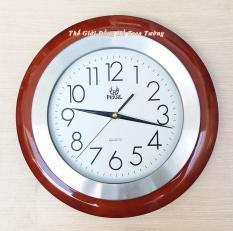 Đồng hồ Pearl Gỗ kết hợp Vành Nhôm – Máy Kim Trôi