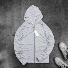 Áo chống nắng nam,áo khoác đi nắng chất vải kim cương phiên bản mới nhất 2021