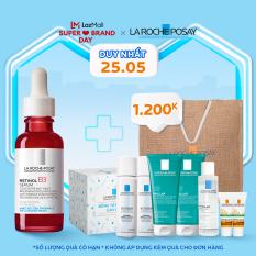 Tinh chất giúp tái tạo da, giảm thâm nám và nếp nhăn, làm đều màu da La Roche Posay Retinol B3 Serum 30ml