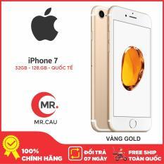 Điện thoại Apple iPhone 7 – 32GB -128 G Bản Quốc Tế, IOS 12 Apple A10 Fusion 4 nhân 64-bit , RAM 2 GB Hàng Nhập Khẩu FULL BOX LIKE NEW 99% phù hợp cho giới trẻ, doanh nhân, Tặng kèm Full phụ kiện Bảo hành 6 Tháng MR CAU