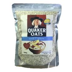 Yến mạch Quaker oats Quick 1 Minute 100% USA 1Kg (Chính hãng)