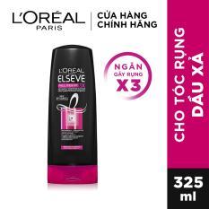 Dầu xả ngăn gãy rụng tóc L'Oreal Paris Elseve Fall Resist 3X Conditioner 325ml