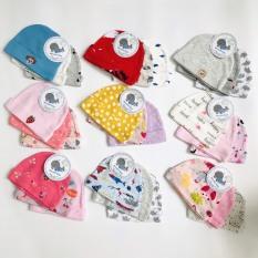 Sét 3 nón che thóp cho bé nhiều màu xinh xắn cho bé từ 0-3 tháng – BEEKIDS PLAZA
