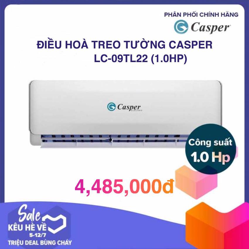 Máy Lạnh Casper LC-09TL11/22 (1.0 HP) - Trắng (GAS 410A)