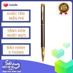 [KHẮC TÊN MIỄN PHÍ] [TẶNG MỰC ĐI KÈM] B&J – Bút (viết) dạ bi ký tên cao cấp bằng kim loại BJ002 dành cho doanh nhân, khẳng định đẳng cấp cá nhân, ngòi viết 0.5mm, thiết kế độc lạ – -phù hợp cho viết nhật ký, ghi chú công việc, quà tặng độc đáo
