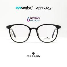 Gọng kính cận nam nữ chính hãng ZAC & CODY B21 mắt mèo lõi thép chống gãy cao cấp Hàn Quốc nhập khẩu by Eye Center Vietnam