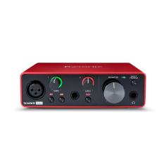 Sound card thu âm 01 Mic Pre, 01 Pro Tools Focusrite Scarlett Solo (Gen3)