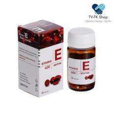 Vitamin E Zentiva 400 – Đẹp Da Tóc Móng (Nhập Khẩu Nga)