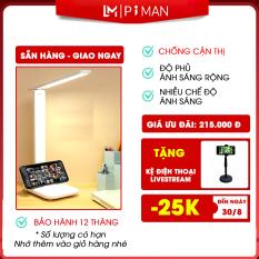 Đèn led siêu sáng Piman học để bàn chống cận thị, đèn led live stream trang trí phòng học, phòng ngủ P411