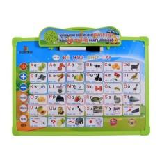 Bảng điện tử thông minh 11 chủ đề, Bảng học chữ cái đa năng, giúp bé tự phát triển toàn diện, học tập tốt