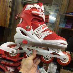 Giầy trượt patin có đèn Flash phát sáng (xanh, đỏ, hồng)