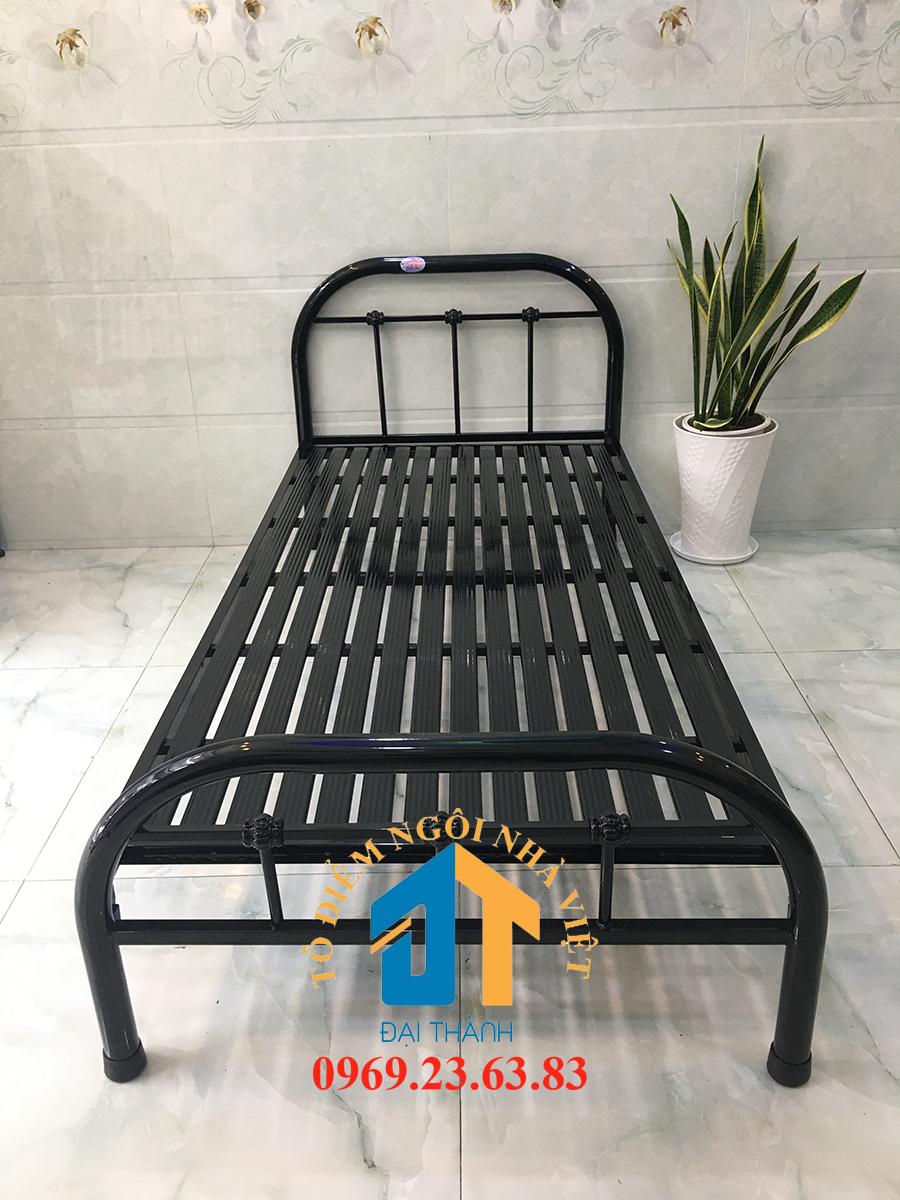 [HCM][Giao hàng từ 15/9] Giường sắt mỹ nghệ nhiều kích thước 1m đến 1m8 x 2m Đại Thành