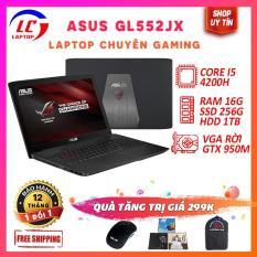 Laptop Gaming Giá Rẻ, Laptop Chơi Game Cao Cấp Asus GGL552JX, i5-4200H, VGA Nvidia GTX 950M, Màn 15.6 FullHD, LaptopLC298