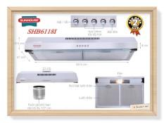 Máy Khử Mùi INOX430SS SUNHOUSE SHB6118I New 2021