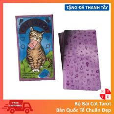 Bài Tarot Cat Tarot Tặng Đá Thanh Tẩy
