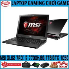 ( GIẢM GIÁ MẠNH) KHỦNG GAME MSI GL62M 7RD Core i7-7700HQ/ 8G/ HDD 1TB/ VGA GTX 1050M/ 15.6 inch Full HD 1920*1080, dòng gaming chuyên game đồ họa