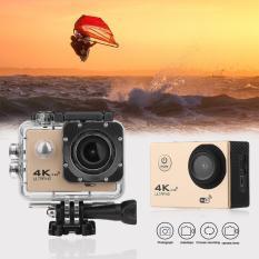Camera Thể Thao Chống Nước 4K Wifi 1080P Kèm Remote