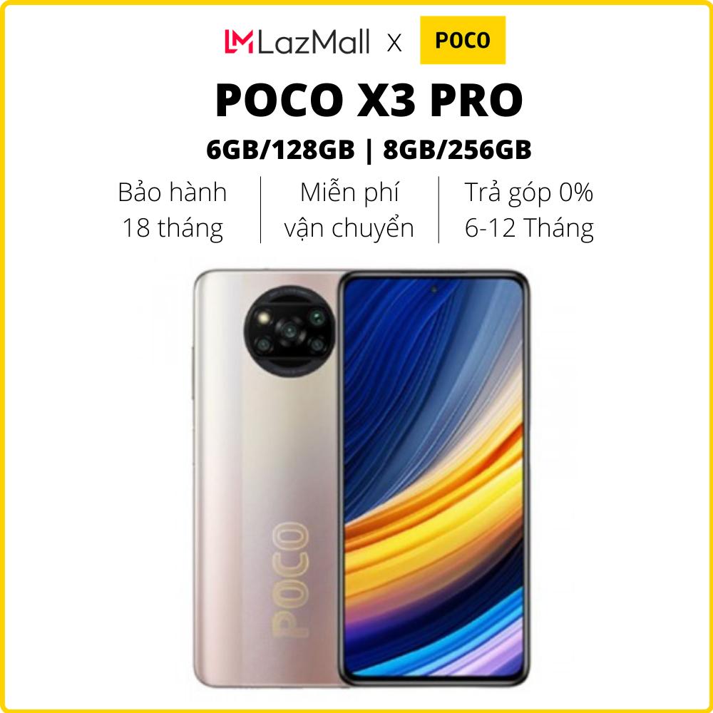 Điện thoại POCO X3 Pro (6GB/128GB | 8GB/256GB) – Hàng chính hãng DGW – Bảo hành 18 tháng – Trả góp 0%