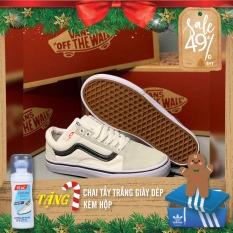 [ HÀNG CAO CẤP ] Giày sneaker Vans Style 36 Marshmallow Black Line nam nữ siêu hot 2020 – Giày Vans Old Skool vạch đen || Hany Shop