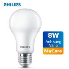 Bóng đèn Philips LED MyCare 8W 3000K E27 A60 – Ánh sáng vàng