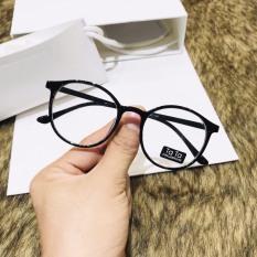 Kính giả cận thời trang mắt kính không độ bảo vệ mắt chống tia UV, kính gọng cận thay được tròng cận, kính mắt thời trang nam nữ hot nhất năm 2020 4 Young Sotre 055