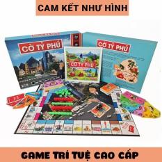 Đồ chơi Cờ Tỷ Phú Monopoly Việt Nam Trò chơi board game trí tuệ cao cấp tiếng Việt 100% cùng người thân gia đình bạn bè học làm giàu