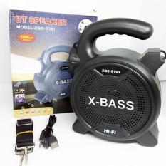 Loa Bluetooth Karaoke Tích Hợp Đèn Pin ZQS-5101 + Tặng Kèm Micro Karaoke Có Dây – ZQS-5101