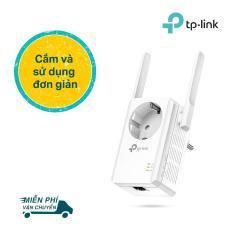 TP-Link Bộ mở rộng sóng Wifi chuẩn N 300Mbps Tích hợp ổ cắm điện -TL-WA860RE -Hãng phân phối chính thức